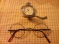 時計→電池交換、メガネ→フレームのネジ取付