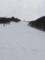 パラダイスコース(未圧雪)