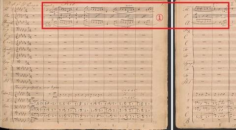 Bruckner Symphony No.4 Mvt.3 Trio Manuscript-1