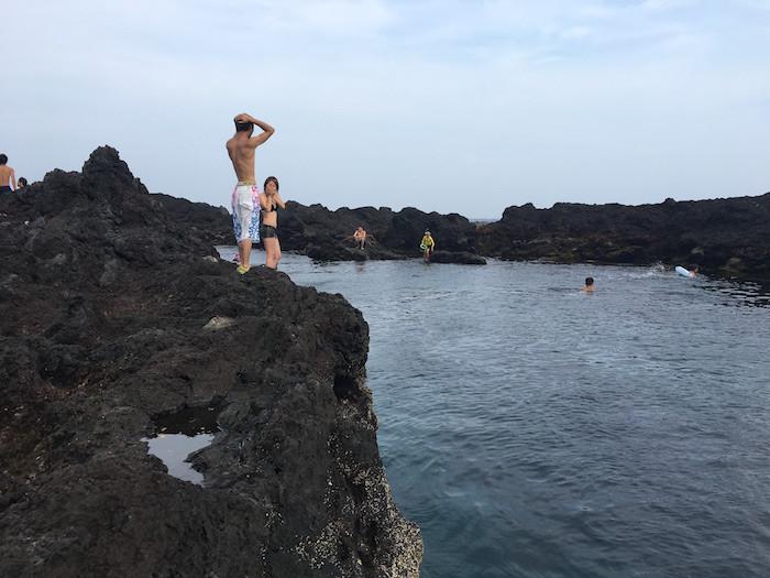 伊豆大島トウシキ海岸