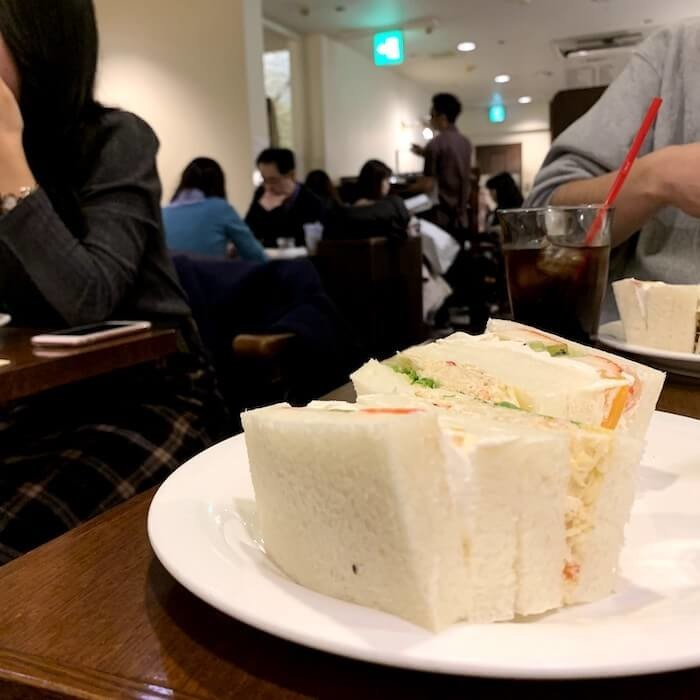 札幌さえらのサンドイッチ