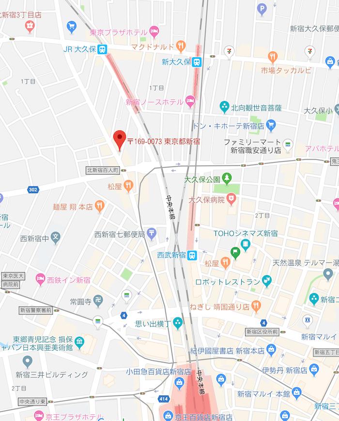 茶里茶里(chalichali)の場所google map