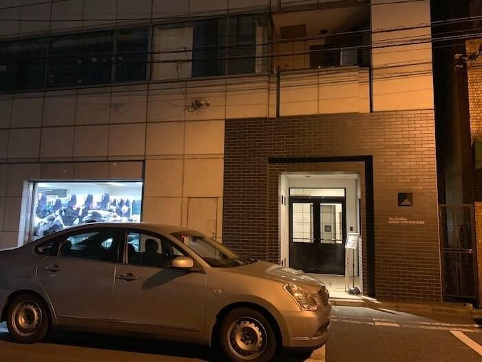 Uber Eats配達パートナーのパートナーサポートセンターの建物
