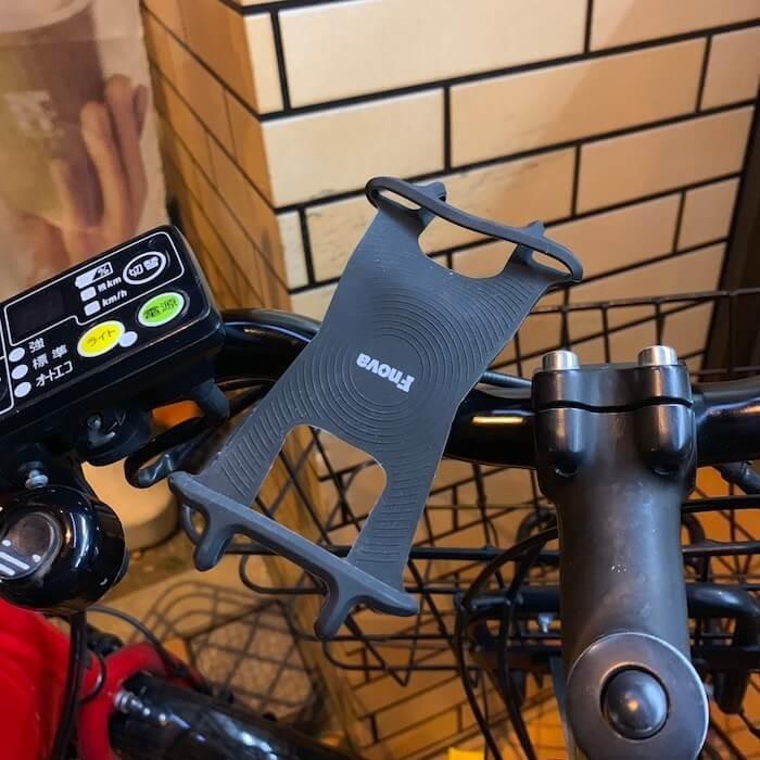 Uber Eats自転車スマホホルダー