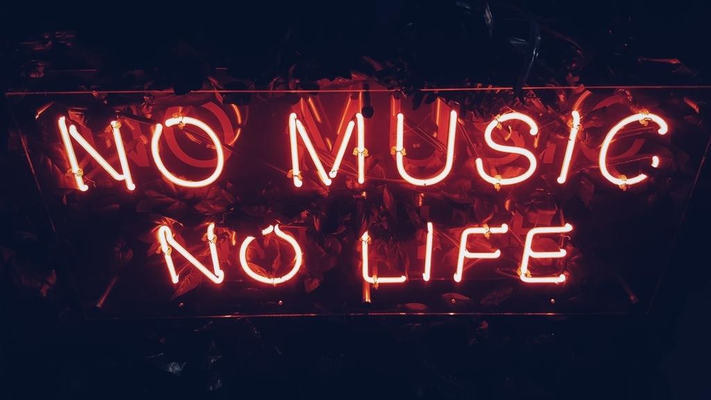 音楽なしでは生きれない
