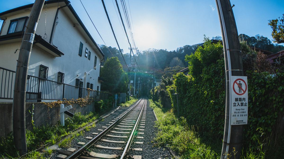 江ノ電踏切