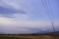 [富士山]稜線