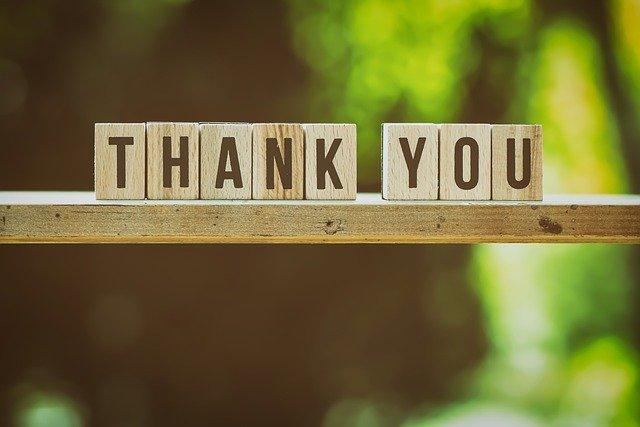 「ありがとう」の写真