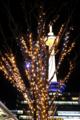 京都新聞写真コンテスト イルミネーションと夜の京都タワー
