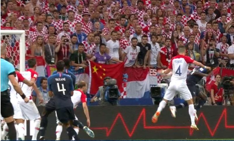 ロシアワールドカップ決勝フランスvsクロアチアのハンド