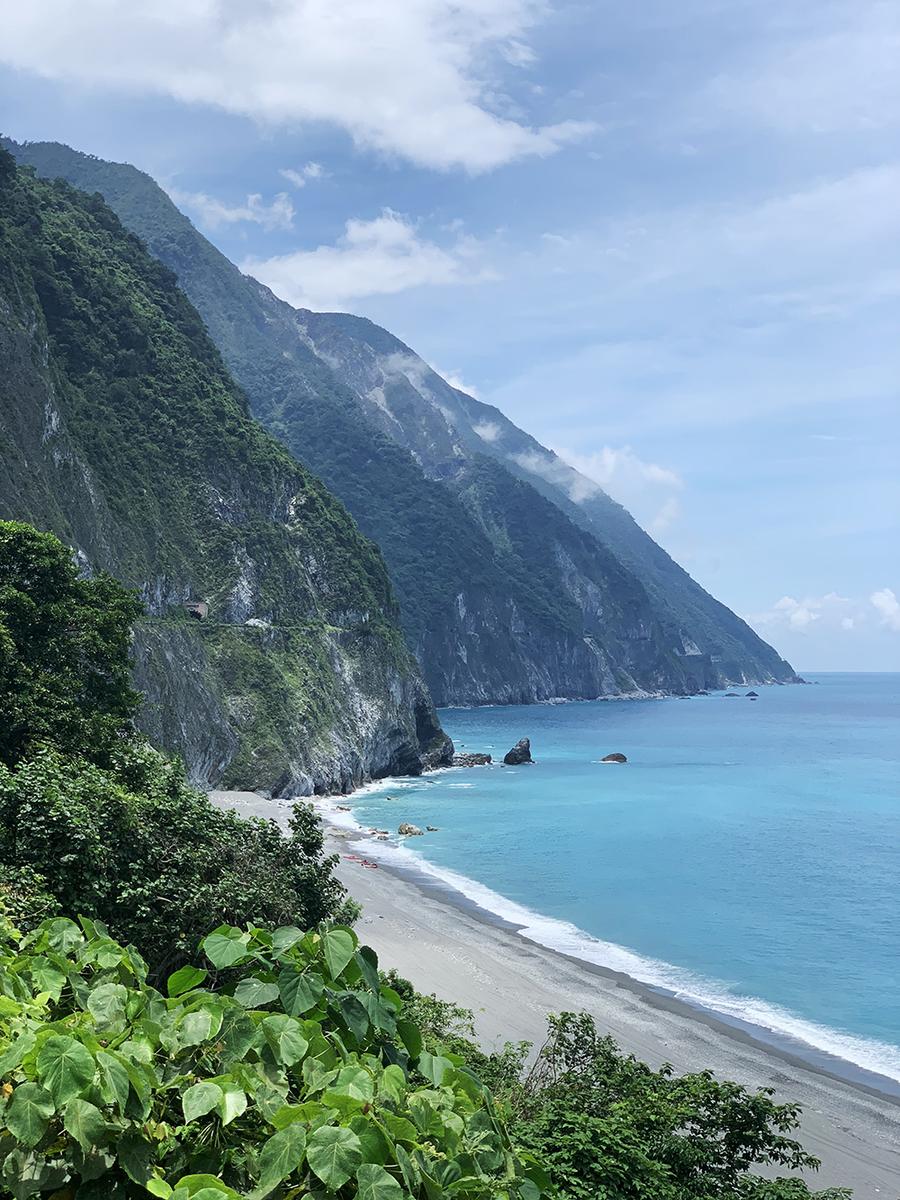 花蓮でも有名な絶景が望める清水断崖