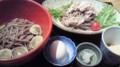 文楽の季節限定へべす蕎麦