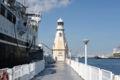 [氷川丸]横の旧白灯台