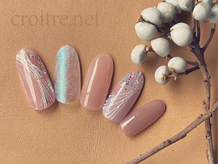 桜色の春ネイル