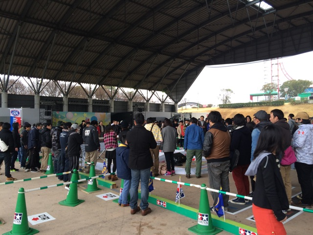 ミニ四駆GP SPRING 熊本大会 の様子