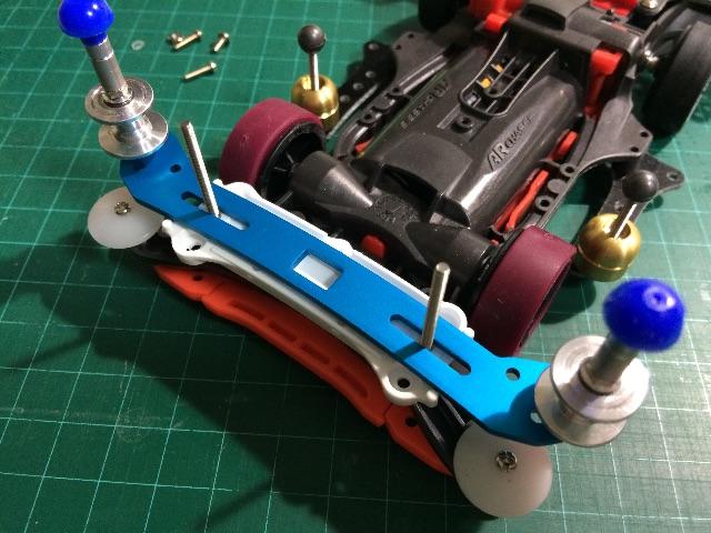 スライドダンパーを組み立てる