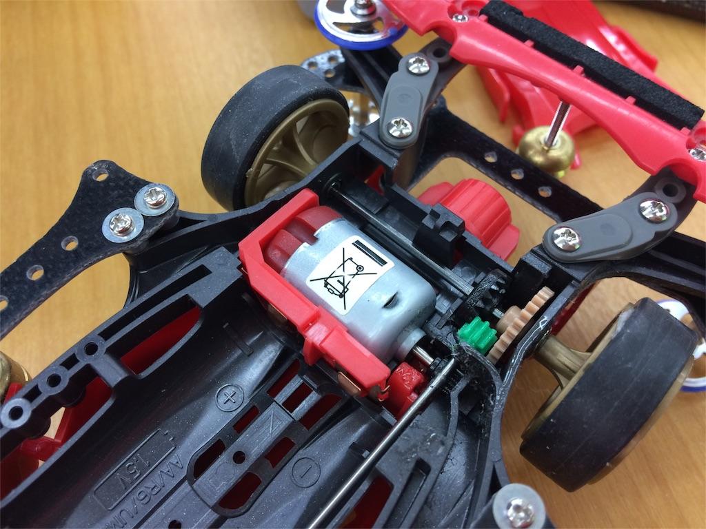 モーターをあえてひとつ下の性能のハイパーダッシュ3に交換
