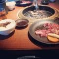 焼肉 ( carne en plancha )