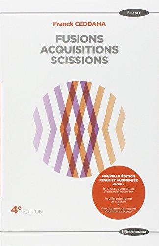 Fusions Acquisitions Scissions