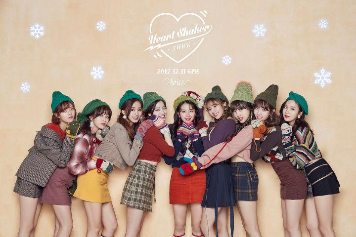 ハートシェイカー Twice新曲 Heart Shaker フルver を韓国語歌詞