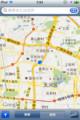 Google Map 中国、広州