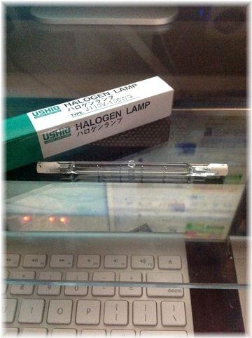 ウシオ 両口金ハロゲンランプ(標準タイプ) 110V 150W R7S口金 J110V150WG