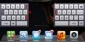 iPad分割キーボードの隠れキー