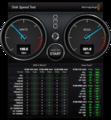 OWL-EGP25S/U3でIntel SSDSC2MH120A2K5のベンチマーク