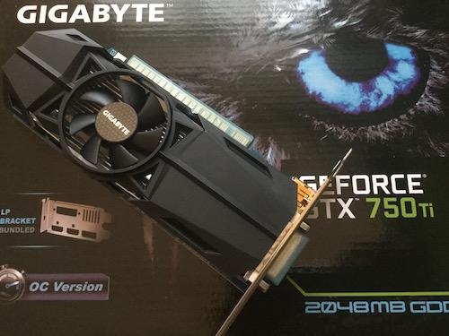 GIGABYTE GTX750Ti GV-N75TOC-2GL