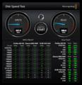 CSSD-S6O240NCG1Q Blackmagic Disk Speed Test (USB)