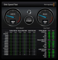 CSSD-S6O240NCG1Q Blackmagic Disk Speed Test (SATA)