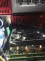 CPUクーラーと電源間のスペース