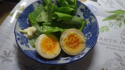 煮卵 盛り付け
