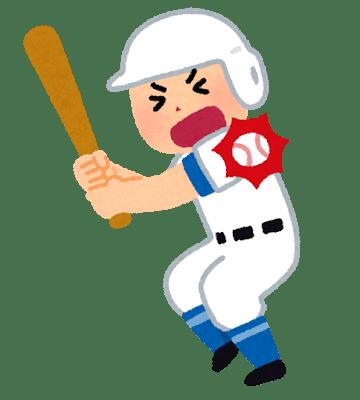 野球 デッドボール