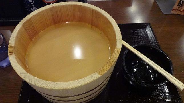 丸亀製麺 釜揚げうどん 完食