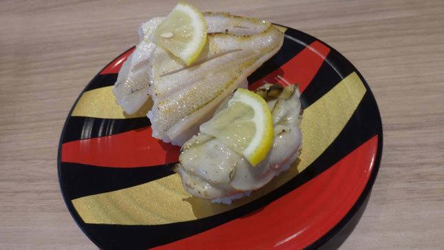 かっぱ寿司 限定メニュー 天然のどぐろ塩炙り&瀬戸内海産 蒸し牡蠣 ~ガーリックバター炙り~