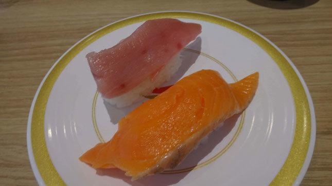かっぱ寿司 限定メニュー みなみ鮪中とろ&でっか!サーモン