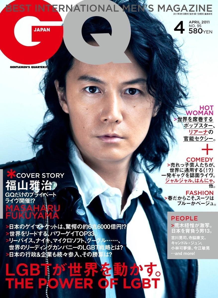 男性向けファッション誌GQ