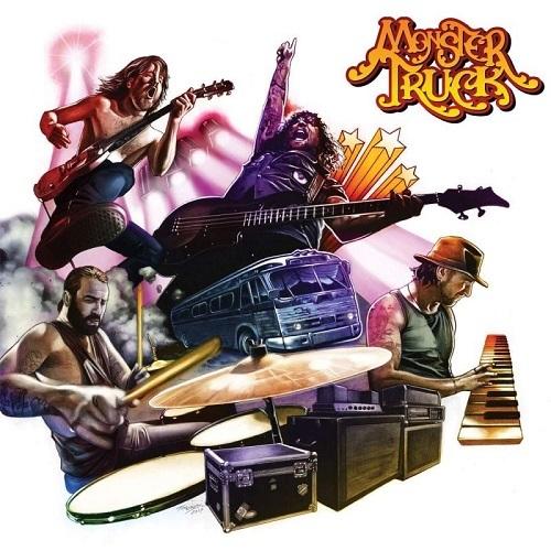 MONSTER TRUCK 『True Rockers』