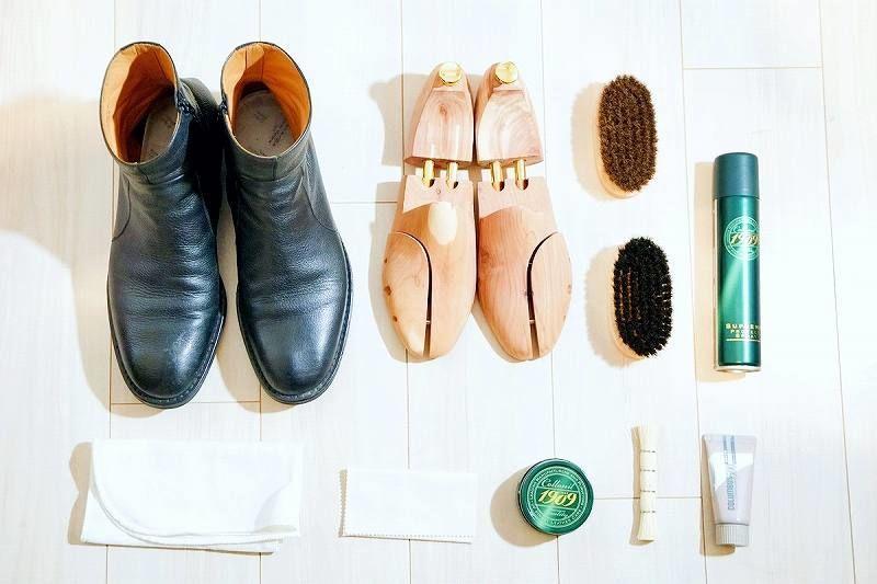 靴磨きにおすすめのグッズ、アイテム