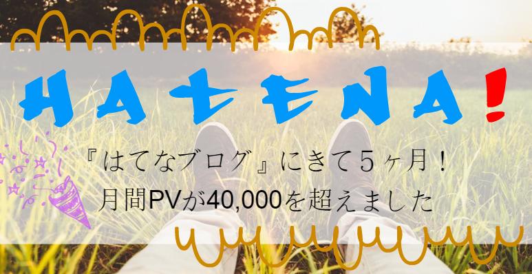 はてなブログ PV