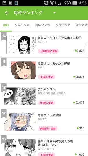 ニコニコ漫画 人気マンガ