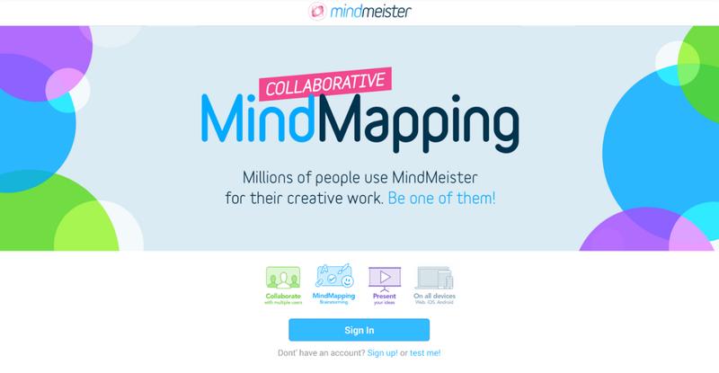 MindMeister マインドマップ