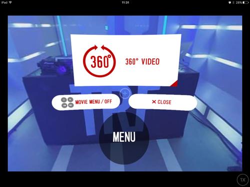 VR動画スタート