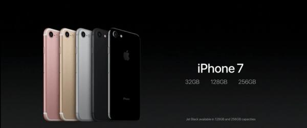 iPhone7の容量