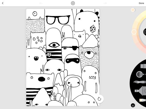 塗り絵アプリlakeはipadとの相性が抜群やはり2017 Apple Dseign