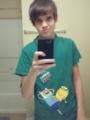 My Brother Braden. LOL Justin Bieber hair xD