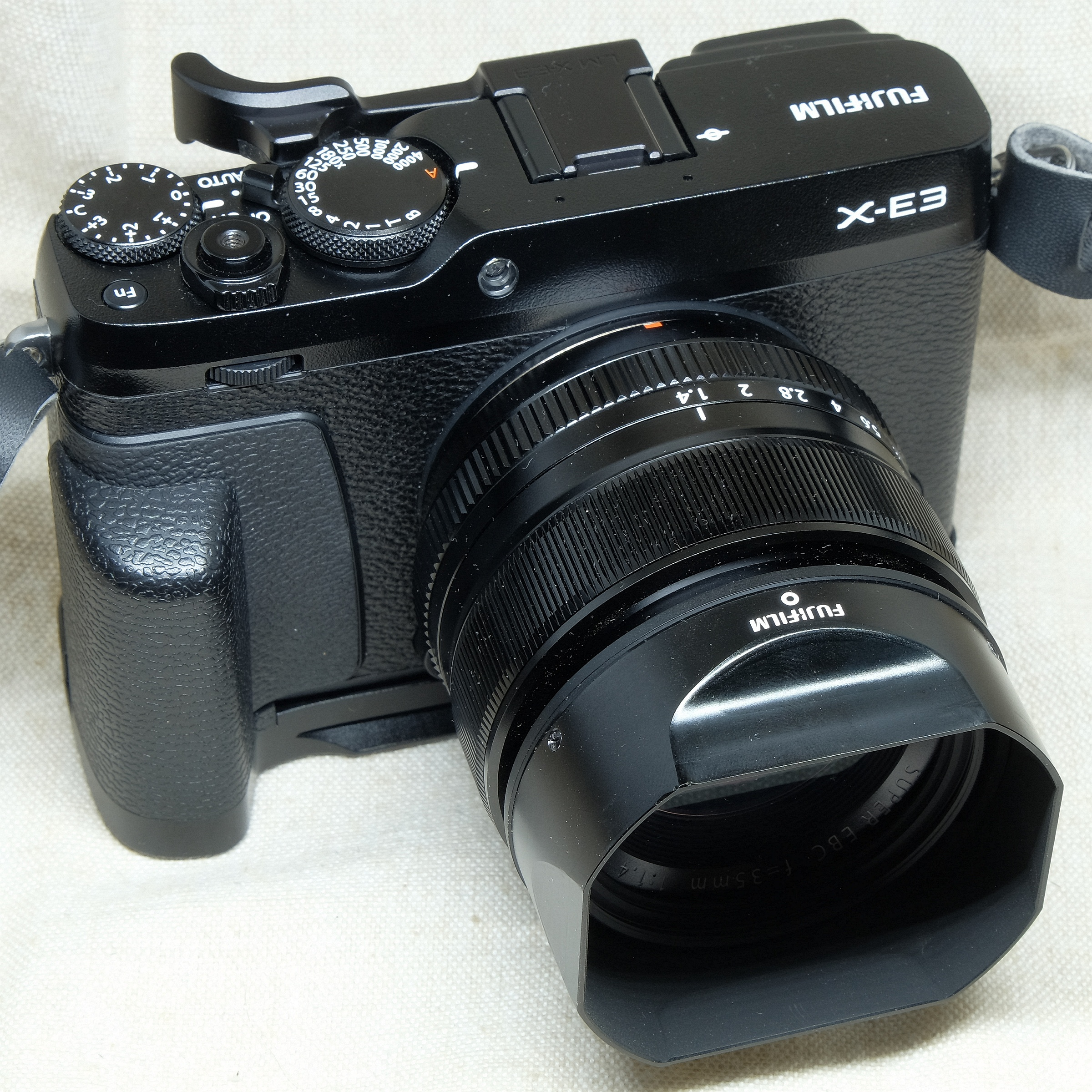 35mmF1.4装着