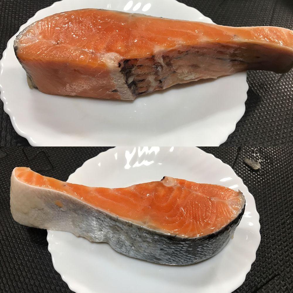 厚切り銀鮭写真