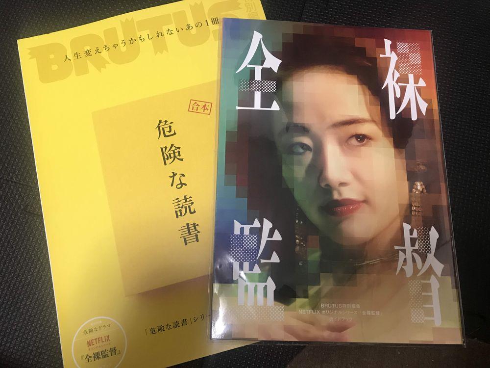 ブルータス 全裸監督ガイドブック表紙 森田望智